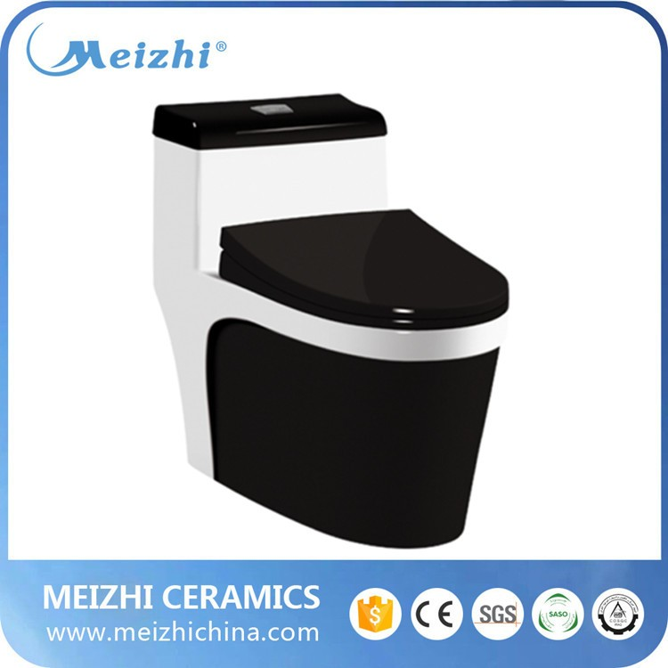 Siphonic s trap ceramic squatting water closet