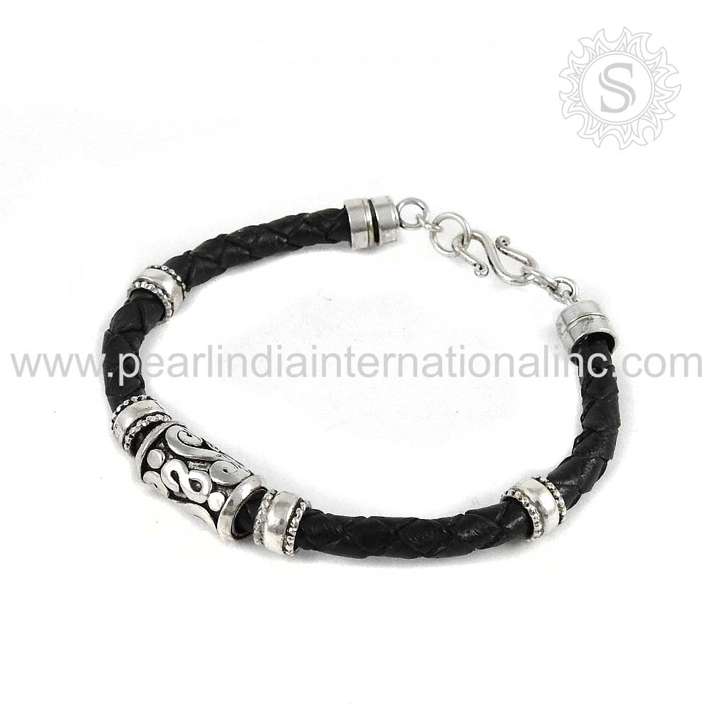 Venture mens black leather bracelet men bracelets links of london - India Wholesale Alibaba India Wholesale Alibaba Manufacturers And Suppliers On Alibaba Com
