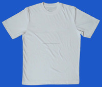 OEM service cheap men basic shirts suppliers plain cotton t shirt in bulk white t shirt