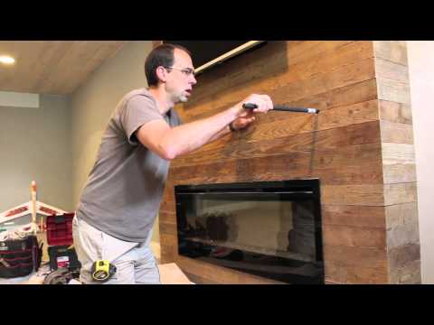 get quotations installing a wood fireplace mantel