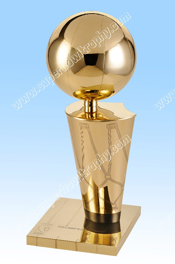 NBA Larry O Brien Trophy Replica. Free Shipping, US Based.