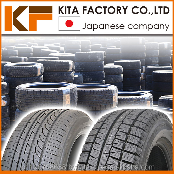 Japanese used tyre size list of famous brands High quality secondhand tires