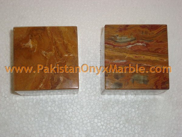 POLISHED MULTI BROWN ONYX CUBES HANDICRAFTS