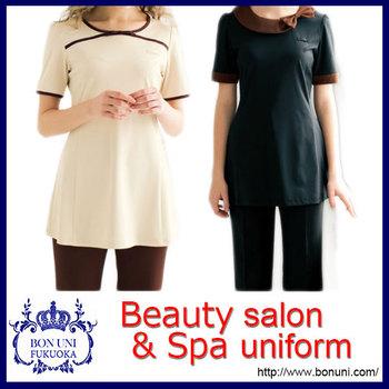 Spa beauty salon uniform for beautician with good for Spa uniform alibaba
