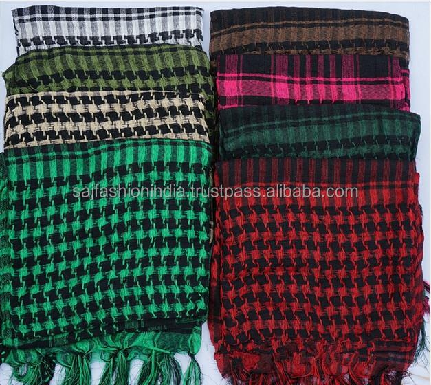 Keffiyeh palästinensische Schal Yasser Arafat Style Shemagh arabischer