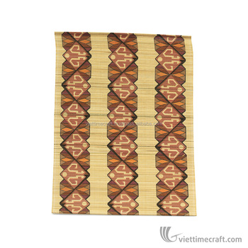 Wholesale Bamboo Handmade Dining Table Mat Plate In Vietnam