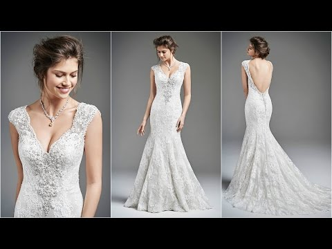 Mermaid Wedding Dresses | Simple Wedding Dresses | Wedding Dresses | Lace Wedding Dresses | WD9