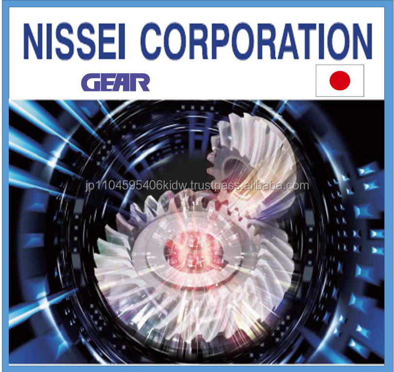 Easy to operate and High precision double spur Nissei gear with world class engineering