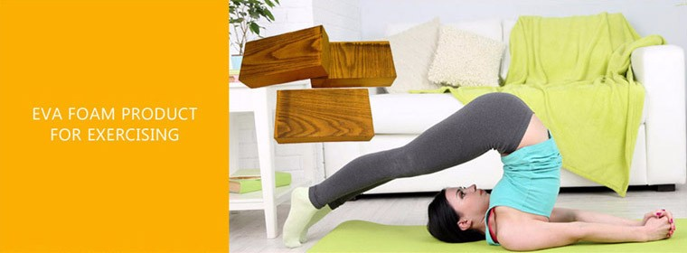 Taiwan Produced with Increaseing Hardness Eva Foam Yoga Block Yoga Brick