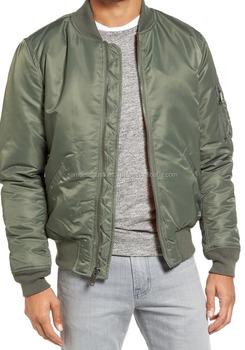 580058950e9 Olive green Silk Bomber Jacket for Men\Wholesale Green nylon\polyester green  bomber jacket