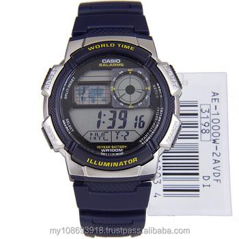 reloj On Product Digital reloj Japón Movimiento General Buy De Analog 2av Band Reloj Ae 1000w Casio Hombre Resina Digital 4jc35ARLq