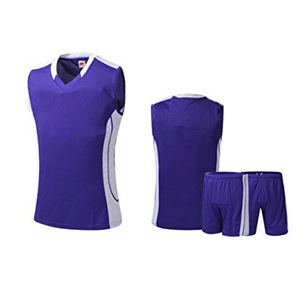 100%polyester Basketball clothing Basketball Uniform