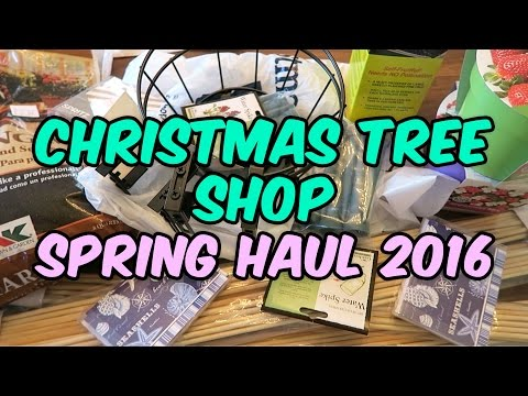 Christmas Tree Shop Haul ? Spring 2016 ? Easter & Gardening