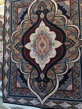 Persian Machine Made Carpet 1200 Reeds Iran