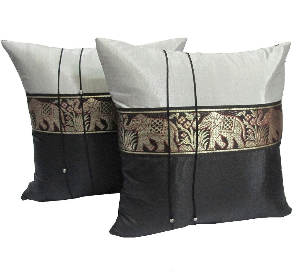 thai elephant pillow cover silk thai elephant pillow cover silk suppliers and at alibabacom