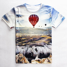 Sublimation T-Shirt Wholesale/ Custom Sublimated New Design T-Shirt/ Unisex All Over T-Shirts