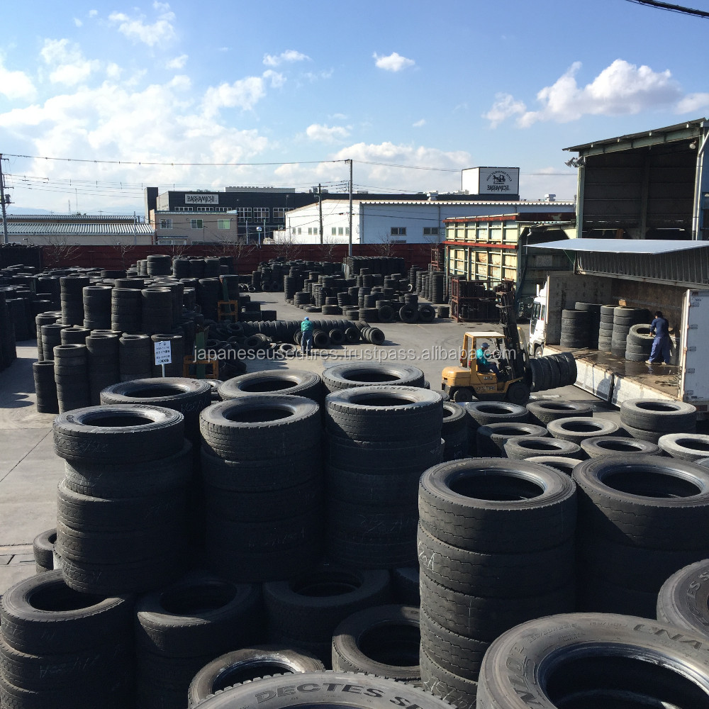 Reliable Japanese used cheap passenger car tires 175/65r14, Various Sizes and Grades at Wholesale Price