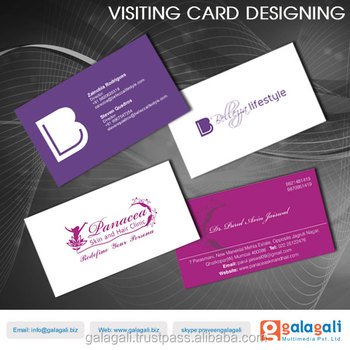 Professionally Created Business Cardsfancy Visiting Cards Design