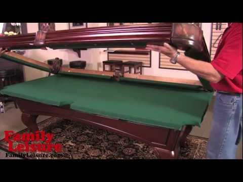 Get Quotations · HOW TO INSTALL A POOL TABLE   Slate Billiard Pool Table  Installation Video