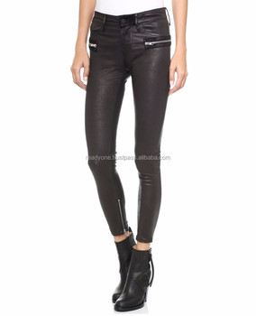 Tight black ass pants