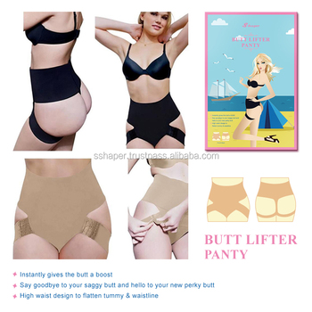 f92fb375a2f S-SHAPER Best Quality Fullness Butt Lifter Panty With Adjustable Straps  Tummy Control Slim Up