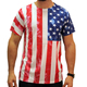 usa flag men Sublimation t shirt, 100% polyester custom sublimation t shirt,custom sublimation t shirt