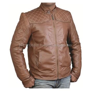 2016 New Stylish Brown Look Boys Leather Jacket Buy Stylish Black