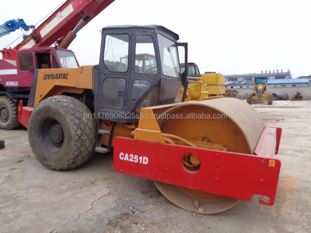 Used cheap Dynapac CA251D road roller , used road machine CA251D compactor on Sale