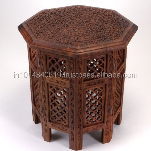 Indian Antique Carved Table Indian Antique Carved Table Suppliers