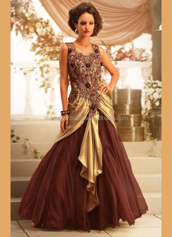 Gown Dresses | Latest Wedding Gown Designs - Buy Wedding Gown,Saree ...