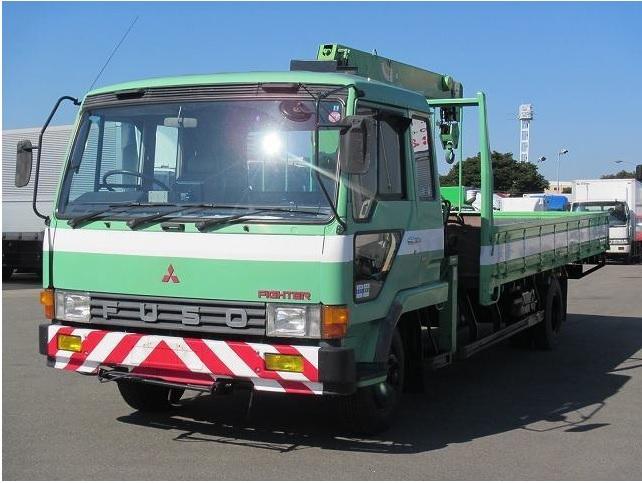 1985 Mitsubishi Fuso Fighter Crane Truck / Fk516k / 6d15 / 2.9t ...