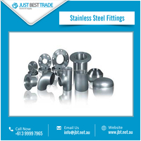 High Efficiency Premium Quality Stainless Steel Fittings from Trusted Company