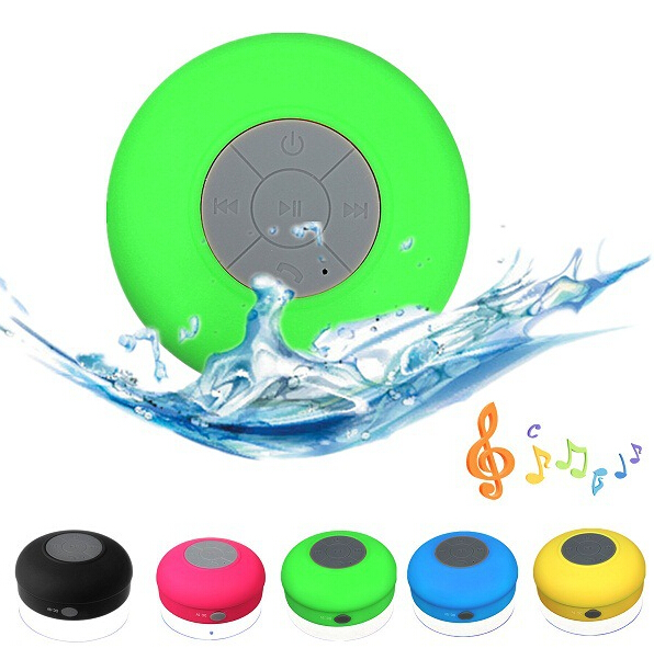waterproof water resistant wireless super bass enjoy music anytime anywhere mini bluetooth shower speaker made in china