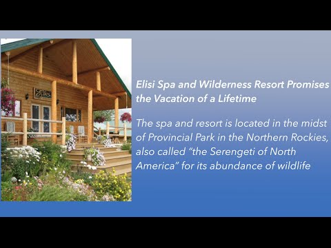 Elisi Spa and Wilderness Resort Named a Top Wilderness Resort