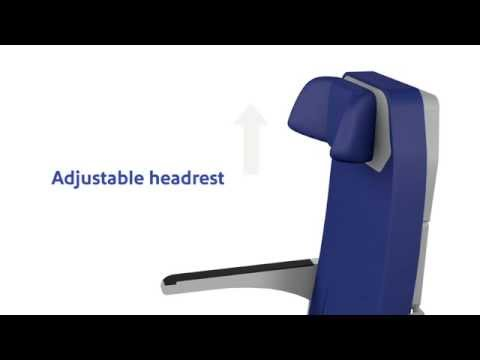 Southwest Airlines�� new aircraft seat