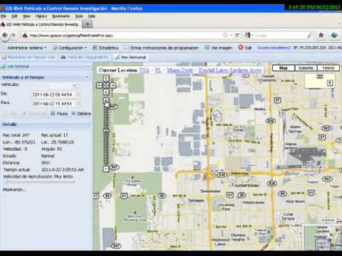 GPS Tracker Download Localizador GPS software Online demo