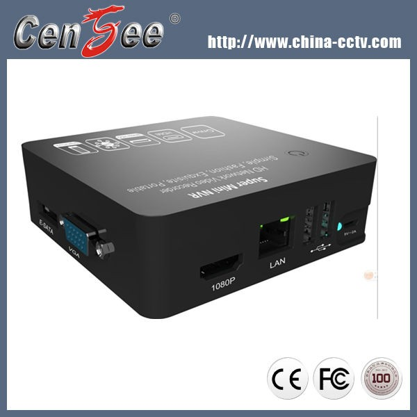 Newest Super Mini NVR 4CH Network HD Video Recorder 1080P ONVIF HDMI 1080P by DIY Security