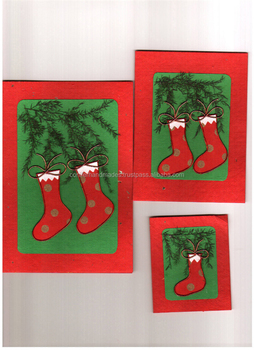 Christmas Greeting Cards Handmade.Dried Flower Handmade Cotton Rag Greeting Cards Made In Christmas Themes In Size 4 6 Inches Suitable For Gifting Buy Dried Flowers Greeting