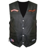 Leather Vest Selecting Different Pattern Peerless