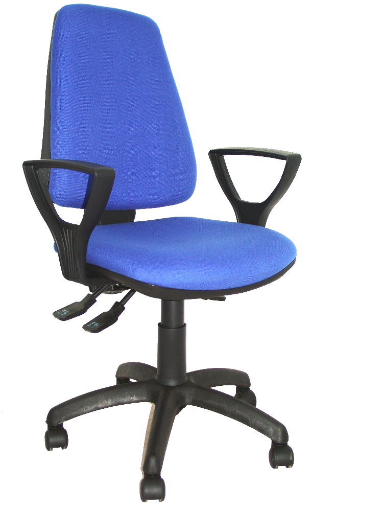 Enjoyable Ergonomic Office Chair With Synchro Mechanism And Adjustable Height Seat And Backrest Upholstered In Fabric Bali Intensive 24H Buy Office Upholstery Inzonedesignstudio Interior Chair Design Inzonedesignstudiocom