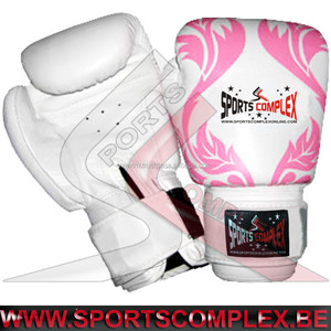 Boxing Gloves Fancy Flowers Print Muay Thai Kickboxing Fitness MMA Sparring Practice Punching Bag Gloves Stock in Belgium Europe