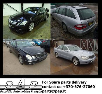 Mercedes Benz E Class, E Class Coupe, S Class, W211
