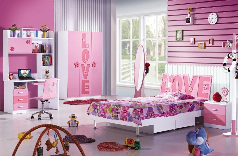 Meisje slaapkamer in roze kleur buy prinses slaapkamer set