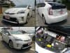 Second hand Toyota Prius hybrid from Japanese car auction