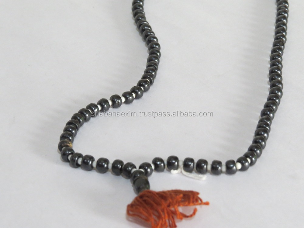 Buddhist Beads Long Necklace Handicrafts Drop pendant Wood Jewelry