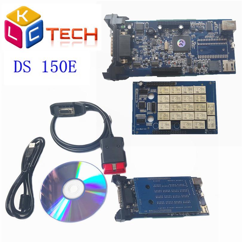 2016 новый год выхода 2014 R3 / 2014 R2 TCS DS150 без Bluetooth диагностический инструмент сканер OBD2 автомобили / TURCKs DS150E