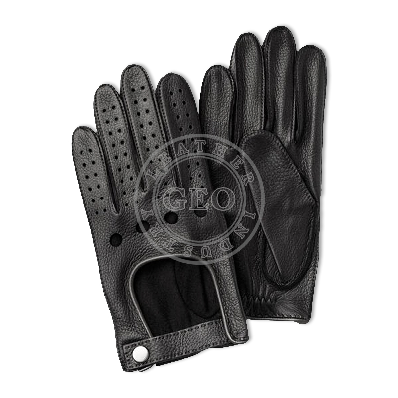 High Quality Sheep Leather Car Driving Gloves For Men