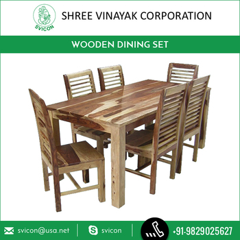 Antique Style Wooden Dining Table Set At Cheap Price From