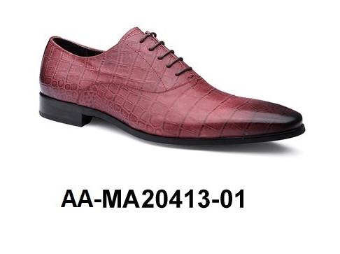 Genuine Leather 01 Shoe Dress Men's MA20413 AA 7Hraq7fW
