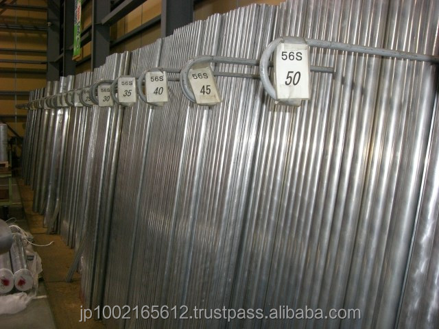 Japanese aluminum round bar A6061,A5052,A5056 at reasonable prices , small lot order available